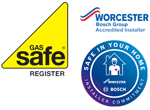 Gas Safe + Worcester Bosch accredited