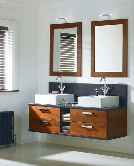 Bathroom furniture Sargasso Walnut