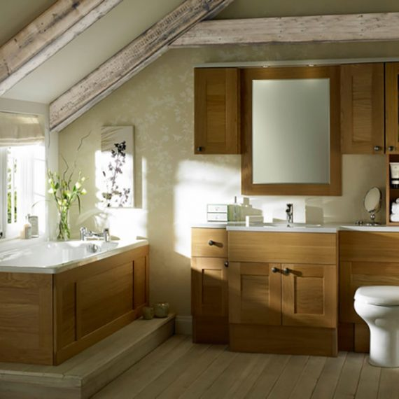 Bathroom furniture Sargasso Light Oak