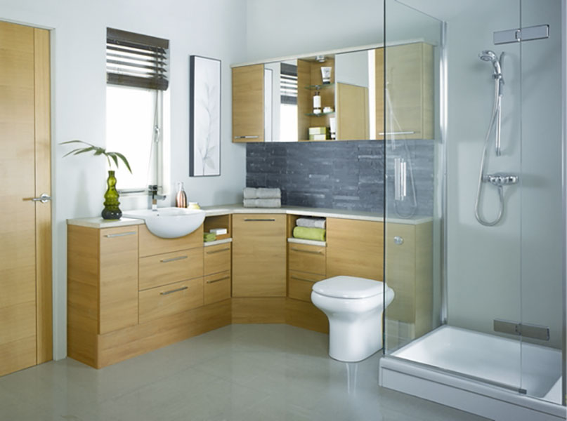 Bathroom furniture Java Oak