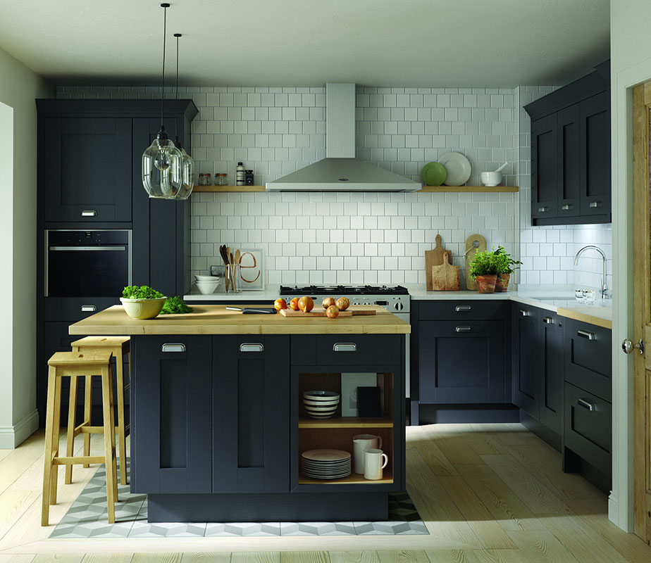Milbourne Charcoal (Also in Partridge Grey, Chalk & Stone)
