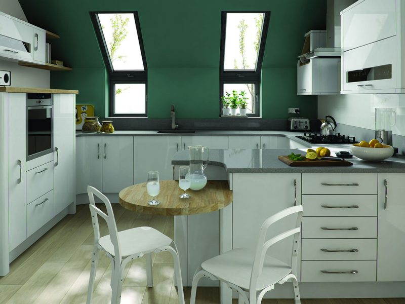 Kitchen Porter White Gloss
