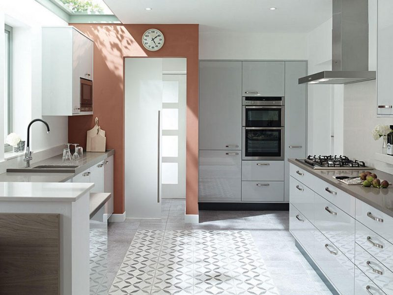 Contemporary Kitchen Porter Dove Grey