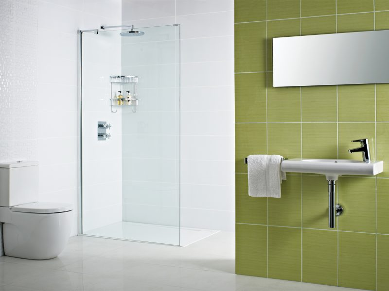 DXFCP on tray shower