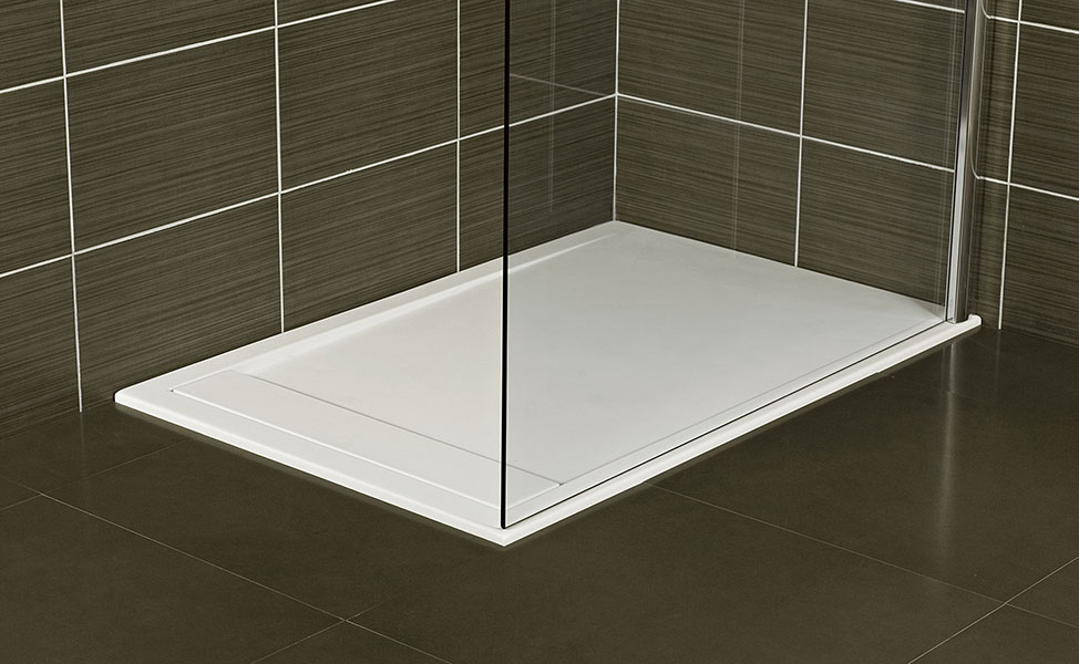 Infinity bathroom tray