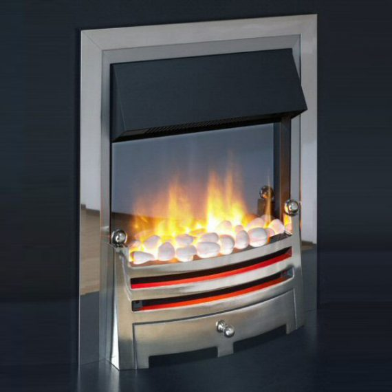 Inset Electric Fire Bahaus