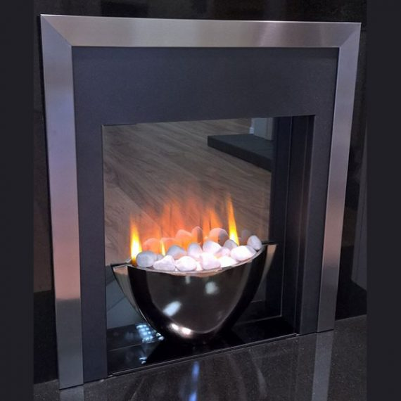 Inset Electric Fire Stanza