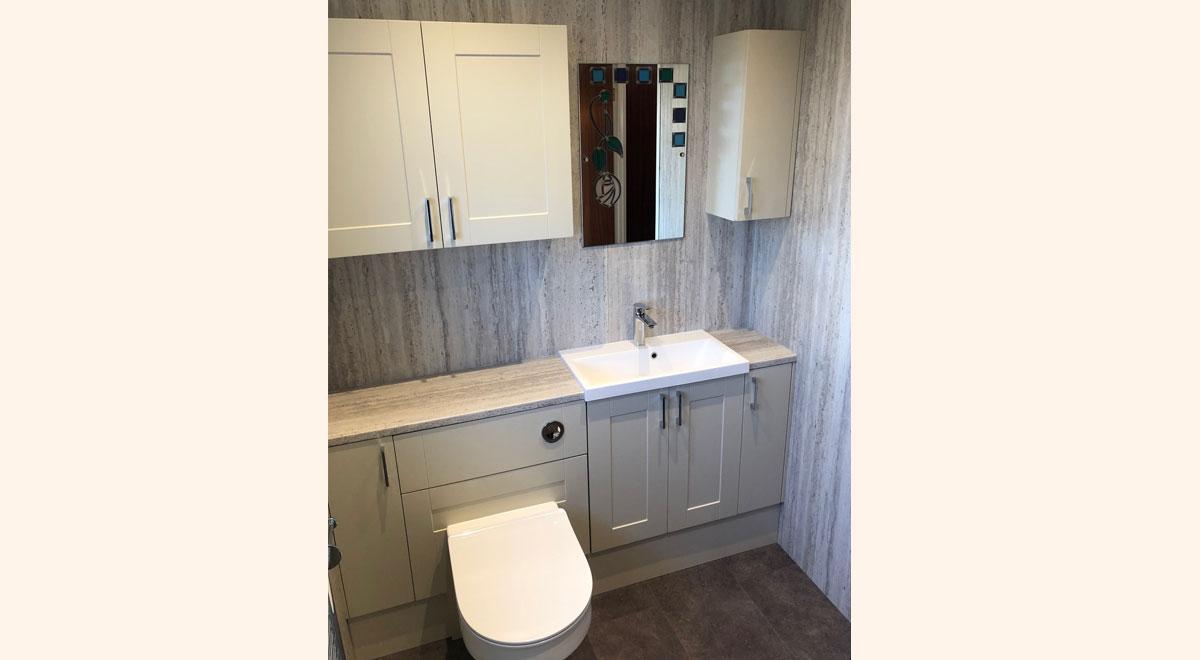New bathroom by Helmanis and Howell Teeside