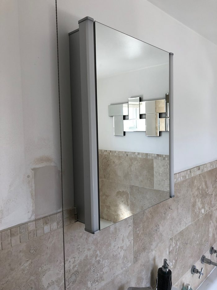 Bathroom designed and installed by Helmanis & Howell